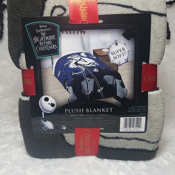 Nightmare Before Christmas Jack blanket
